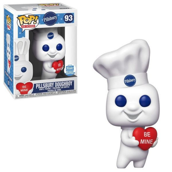 Pillsbury Doughboy with Heart Pop! Vinyl