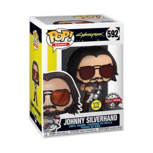 Cyberpunk 2077 - Johnny Silverhand Glow US Exclusive Pop! Vinyl