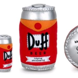 "The Simpsons - Duff Beer Can 10"" Plush"