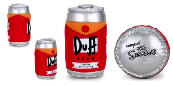 """The Simpsons - Duff Beer Can 10"""" Plush"""