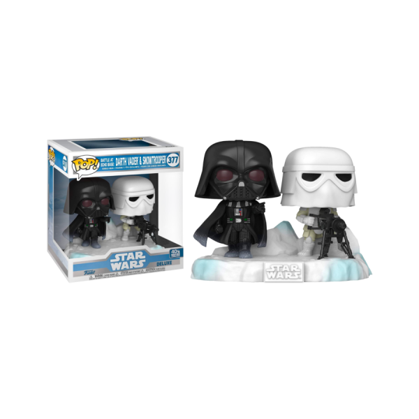 Star Wars - Darth Vader & Stormtrooper US Exclusive Pop! Deluxe Diorama