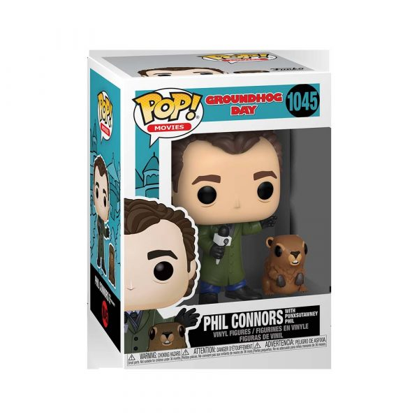 Groundhog Day - Phil with Punxsutawney Phil Pop! Vinyl