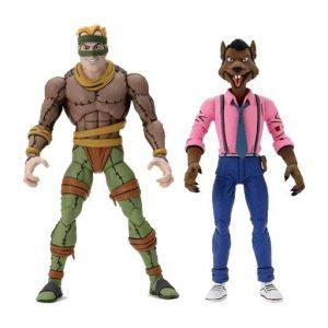 """Teenage Mutant Ninja Turtles - Rat King & Vernon 7"""" Action Figure 2-pack"""
