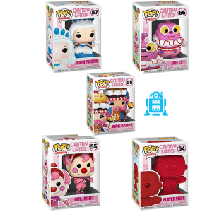 Candyland - Pop! Vinyl Bundle (Set Of 5)