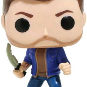 """""""The Mark and the Blade work together. Without the Mark, the Blade is useless. It's just an old bone."""" - Cain Supernatural's Dean with the First Blade is given a fun, and funky, stylized look as an adorable collectible vinyl figure!"""