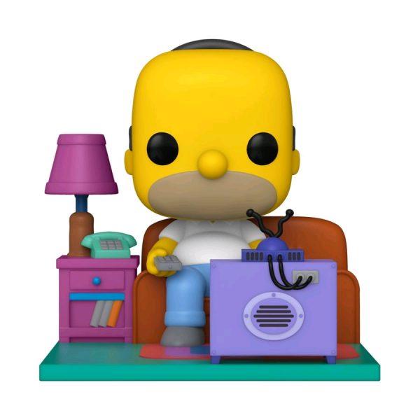 The Simpsons - Homer watching TV Pop! Deluxe