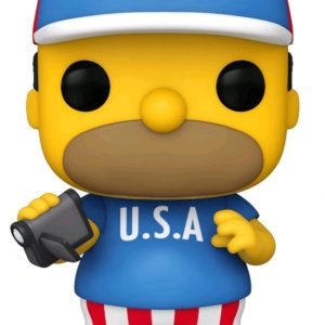 The Simpsons - Homer USA Pop! Vinyl
