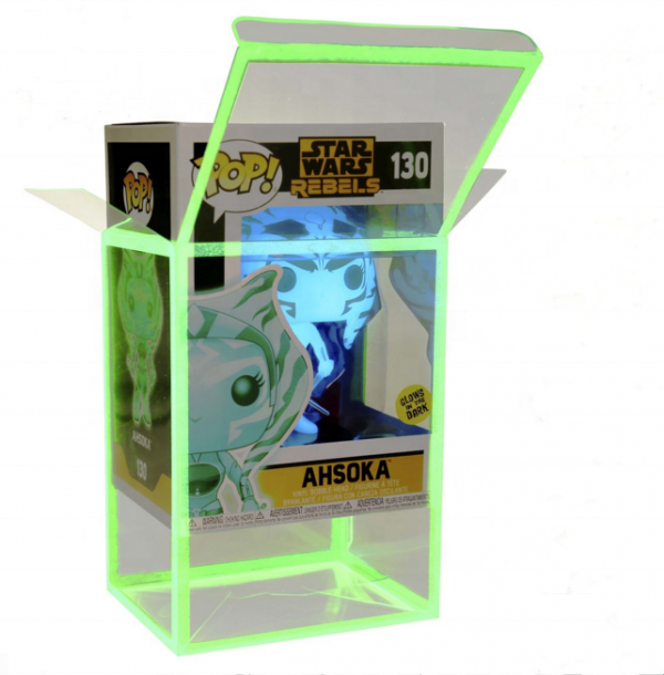 "JayM's Place - 3.75"" 0.5mm - Funko Pop! Protectors Glow In The Dark"