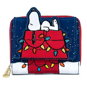 Peanuts - Holiday Snoopy House Flap Purse