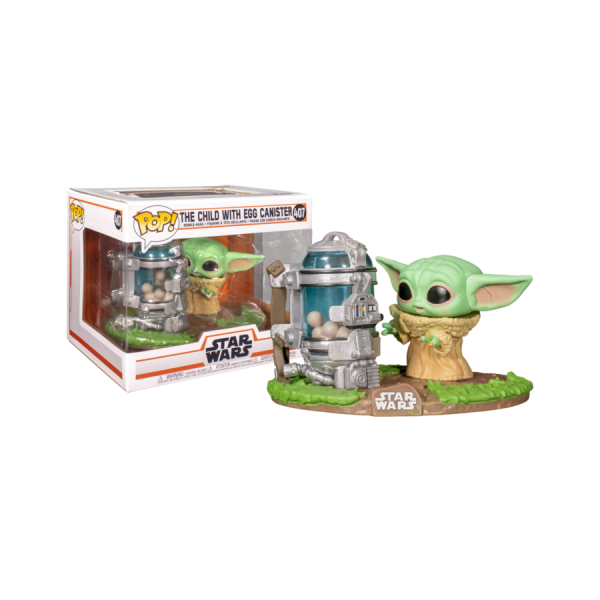 Star Wars: The Mandalorian - Child with Egg Canister Pop! Deluxe