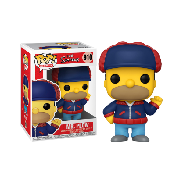 The Simpsons - Homer Mr Plow US Exclusive Pop! Vinyl