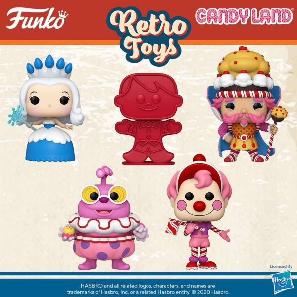The Retro Toys Candyland Pop figures