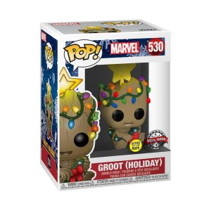 Guardians of the Galaxy: Vol. 2 - Groot Christmas Glow Holiday US Exclusive Pop! Vinyl