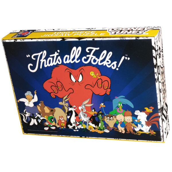 Looney Tunes - 1000 Piece Jigsaw Puzzle
