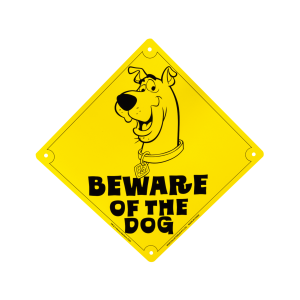Scooby Doo - Beware of the Dog Tin Sign