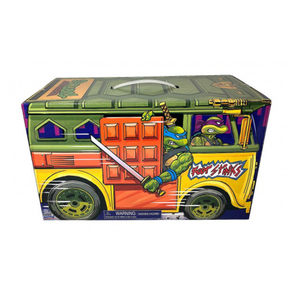 "Teenage Mutant Ninja Turtles - 1988 Classic Retro Rotocast 3.75"" Action Figure 6-Pack in Shellraiser Box"