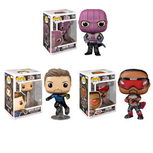 The Falcon and the Winter Soldier - Pop! Vinyl Bundle (Set of 3)