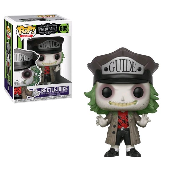 Beetlejuice - Beetlejuice with Guide Hat Pop! Vinyl