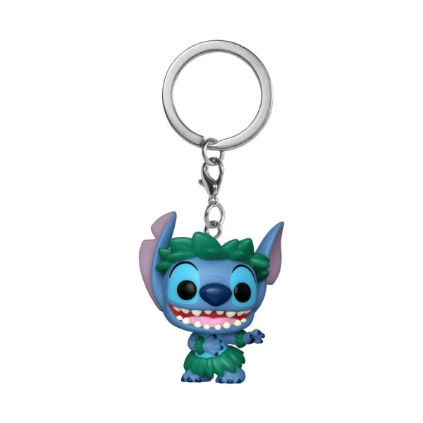 Lilo and Stitch - Stitch Hula Skirt US Exclusive Pocket Pop! Keychain