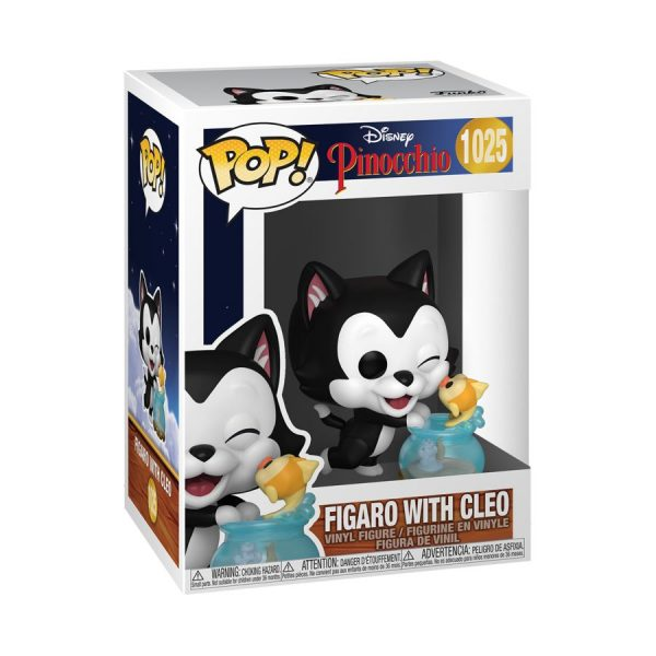 Pinocchio - Figaro Kissing Cleo 80th Anniversary Pop! Vinyl