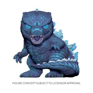 "Godzilla vs Kong - Godzilla City Lights 10"" US Exclusive Pop! Vinyl"