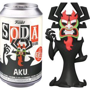 Samurai Jack - Aku Vinyl Soda