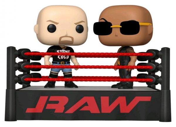 WWE - The Rock v Stone Cold Wrestling Ring Pop! Moment