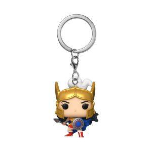 Wonder Woman - Challenge of the Gods 80th Anniversary Pocket Pop! Keychain