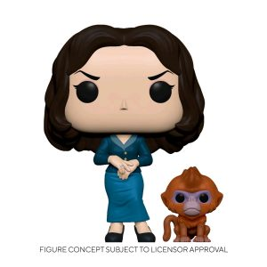 His Dark Materials - Mrs Coulter with Daemon Pop! Vinyl