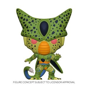 Dragon Ball Z - Cell First Form Glow US Exclusive Pop! Vinyl