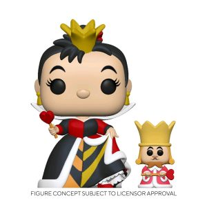 Alice in Wonderland - Queen with King 70th Anniversary Pop! Vinyl