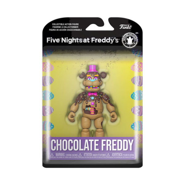 Five Nights at Freddy's - Freddy Chocolate Action Figure