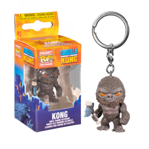Godzilla vs Kong - Kong with Scepter Pocket Pop! Keychain