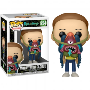 Rick and Morty - Morty with Glorzo Pop! Vinyl