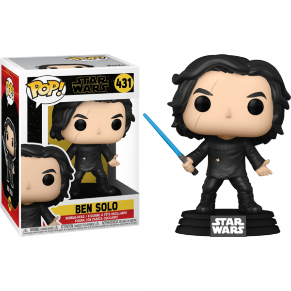 Star Wars - Ben Solo with Blue Saber Pop! Vinyl
