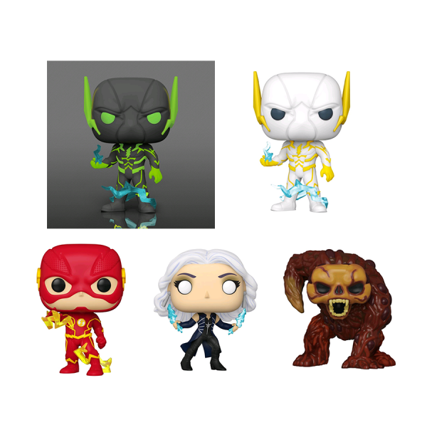 The Flash - Pop! Vinyl Bundle (Set Of 5)