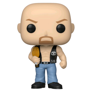 WWE - Stone Cold Steve Austin with Belt Pop! Vinyl