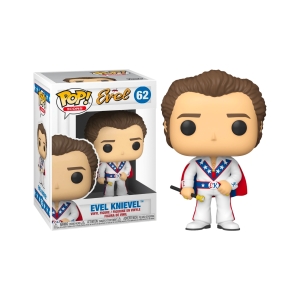 Evel Knievel - Evel Knievel with Cape Pop! Vinyl