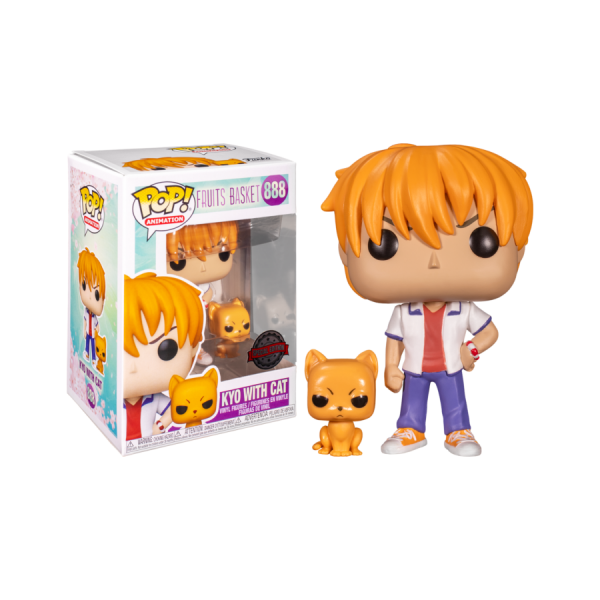 Fruits Basket - Kyo Soma with Cat US Exclusive Pop! Vinyl