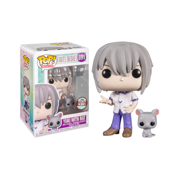Fruits Basket - Yuki Soma with Rat Specialty Series Exclusive Pop! Vinyl