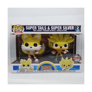 Sonic The Hedgehog - Super Tails & Super Silver 2 Pack