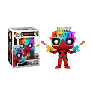 Deadpool - Birthday Glasses 30th Anniversary US Exclusive Pop! Vinyl [RS]