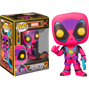 Deadpool - Deadpool Blacklight US Exclusive Pop! Vinyl