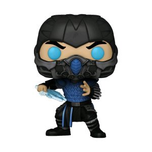 Mortal Kombat (2021) - Sub-Zero Glow US Exclusive Pop! Vinyl [RS]