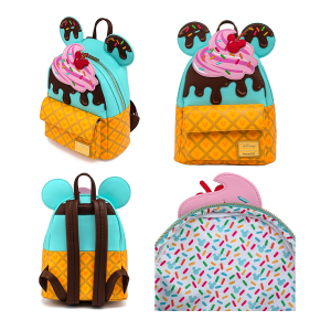 Mickey Mouse - Sweets Ice Cream Mini Backpack