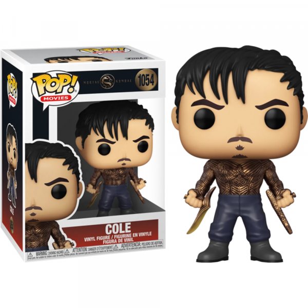 Mortal Kombat (2021) - Cole Metallic Pop! Vinyl