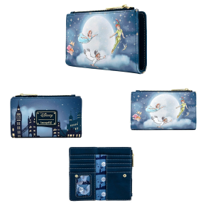 Peter Pan - Second Star Glow Flap Purse