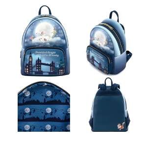 Peter Pan - Second Star Glow Mini Backpack