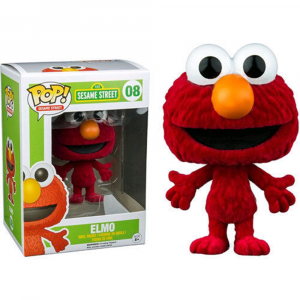 Sesame Street - Elmo Flocked US Exclusive Pop! Vinyl