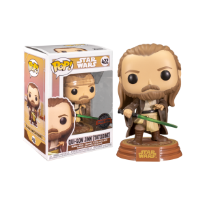 Star Wars: Across the Galaxy - Qui-Gon Jinn US Exclusive Pop! Vinyl [RS]